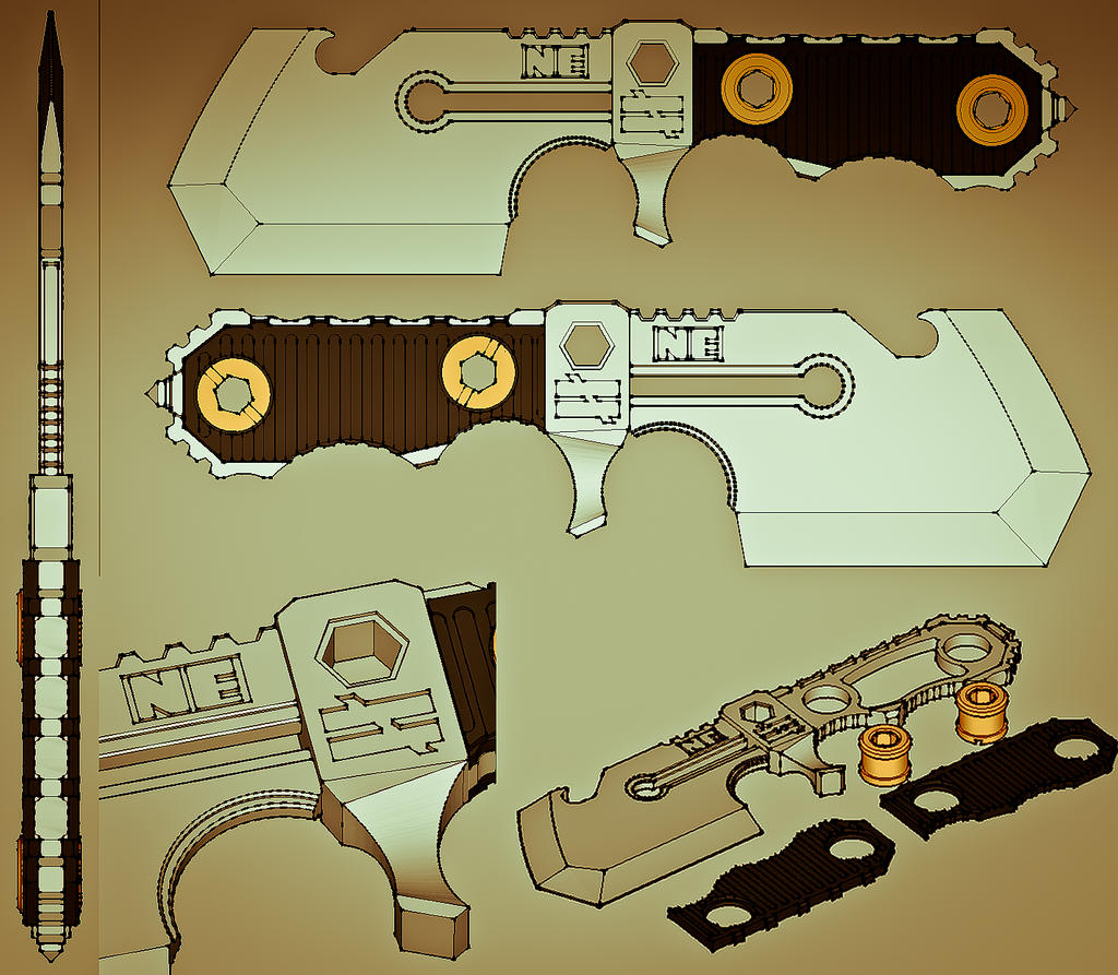 Lil Chopper - Knife Prototype by soupcan13