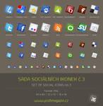 Set of social icons no.2