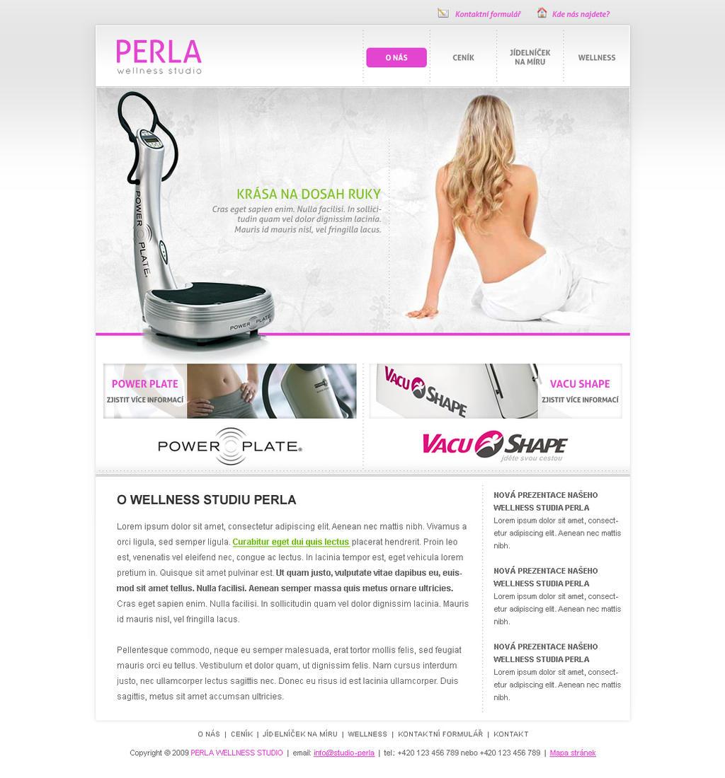 Wellness studio Perla