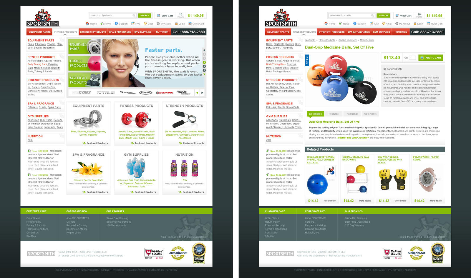 Graphic design for eshop