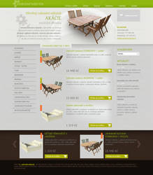 Garden furniture shop by Tydlinka