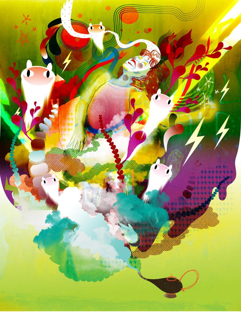 breakthrough genie by paperdull