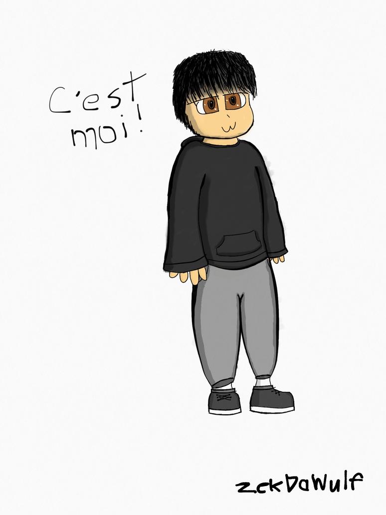 c'est moi by ZekDaWulf