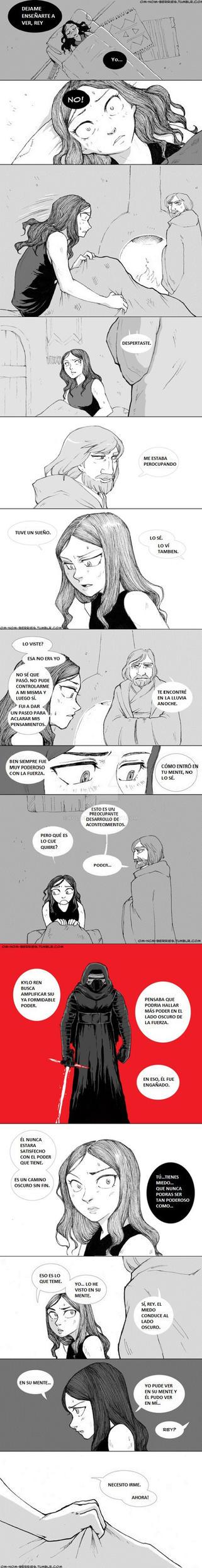 REYLO comic 13 by Koldeka