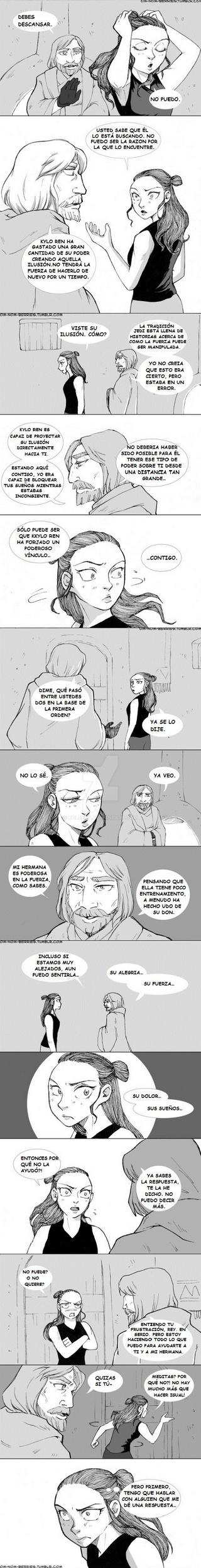 REYLO comic 14 by Koldeka