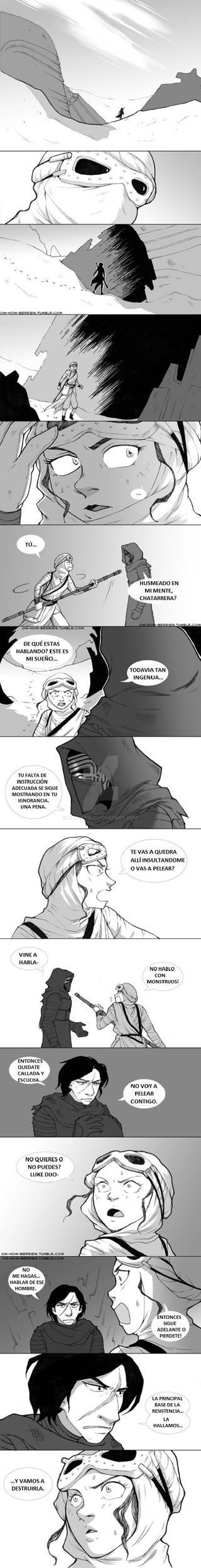 REYLO comic 17 by Koldeka