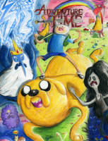 Adventure Time by Uber-Tastee