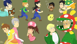 P4 IS Mario by alphabetjones