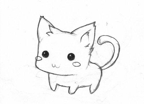drawing cat cute baby by vaniinamagic on DeviantArt