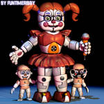 [C4D FNAF] Circus Baby extras remake