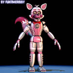 [C4D FNAF] Funtime Foxy extras remake