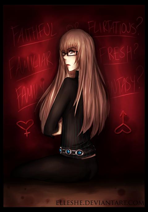 Katherine. by Elleshe