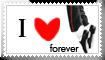 stamp IloveMJ forever