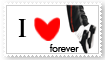 stamp IloveMJ forever by GeoSohma