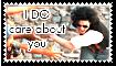 MJ. i DO care stamp