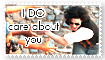 MJ. i DO care stamp by GeoSohma