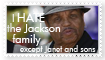 HATE Jackson family Stamp by GeoSohma