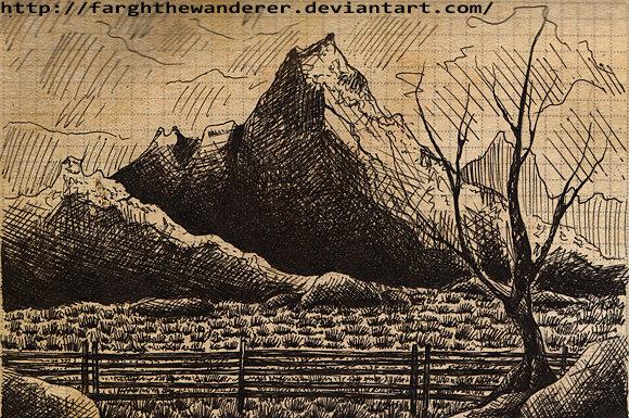 Mountains by FarghTheWanderer