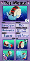 PKMNA - Meet NeoSquid the Omanyte!