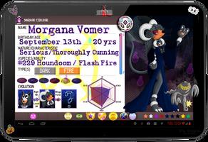 PKMN Armonia - Morgana Vomer [New App] by Powerwing-Amber