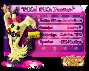 PKMN Skies - Hibana Rabubatoru by Powerwing-Amber