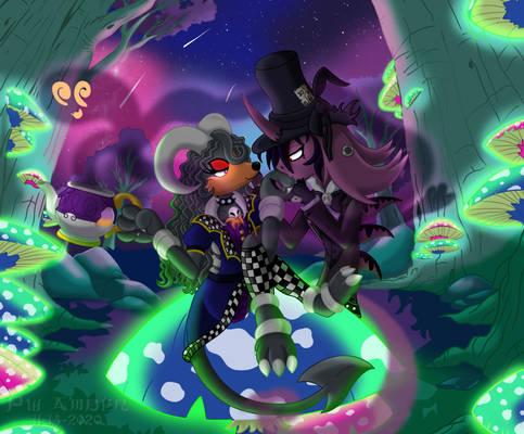 Morgana and Jace - Halloween In Wonderland