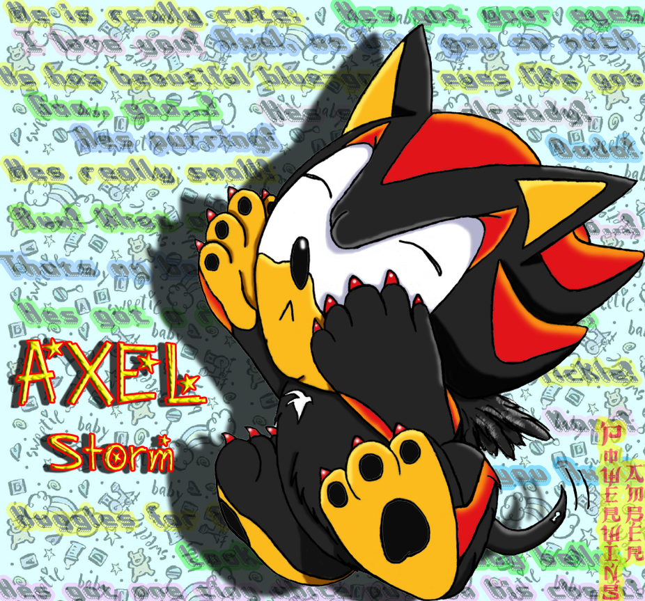 Axel Storm The Hedgehog By Powerwing-Amber On DeviantART
