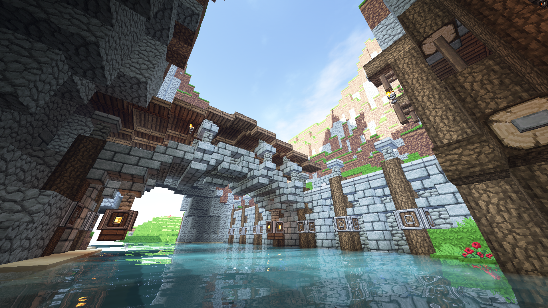 ... Small Bridge   Minecraft Build By ChrisTurboEx