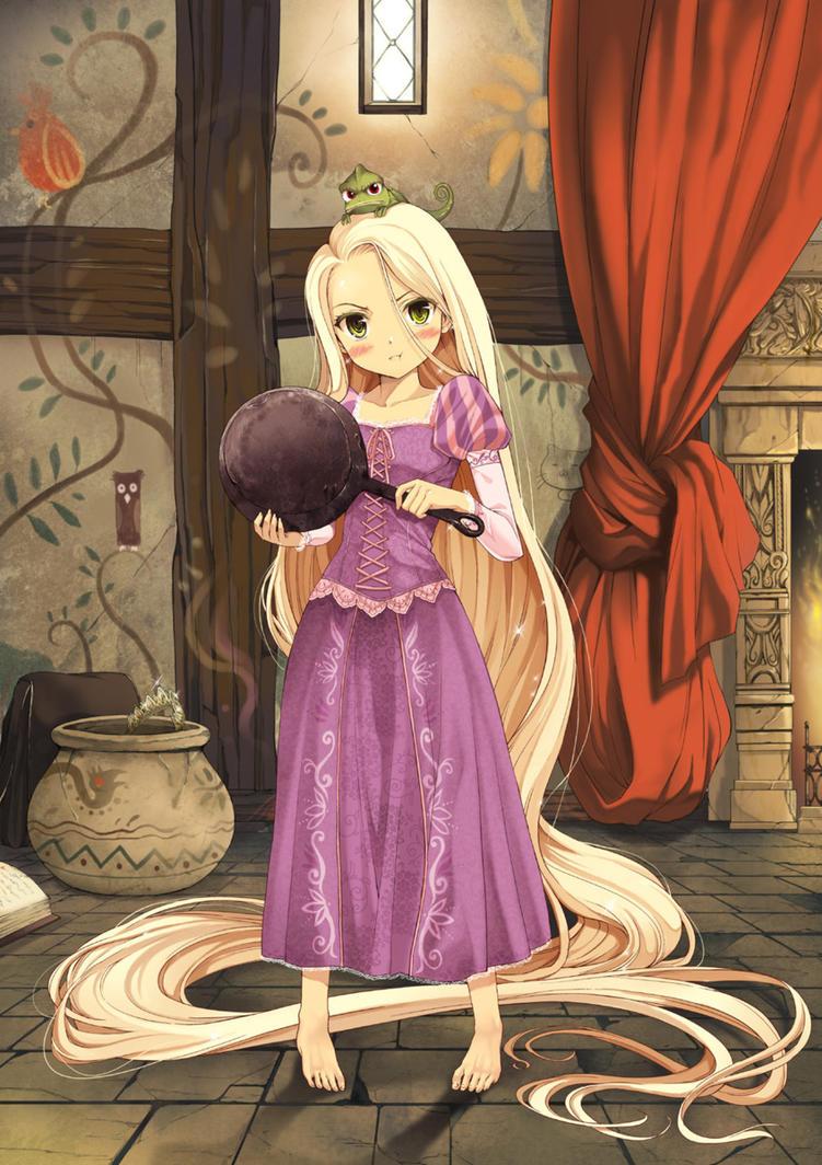 Rapunzel by DenisseSweet on DeviantArt