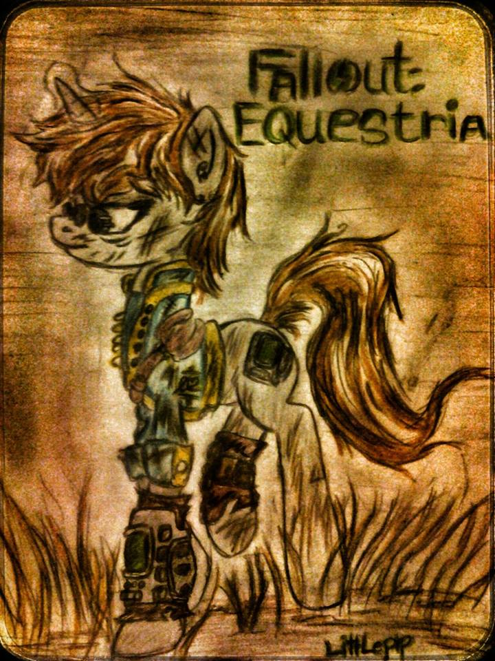 Fallout: Eq - Old Littlepip by BronyCrystal