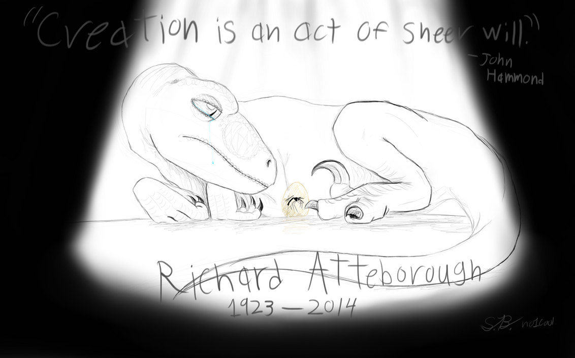 R.I.P. Richard Attenborough by no1cool