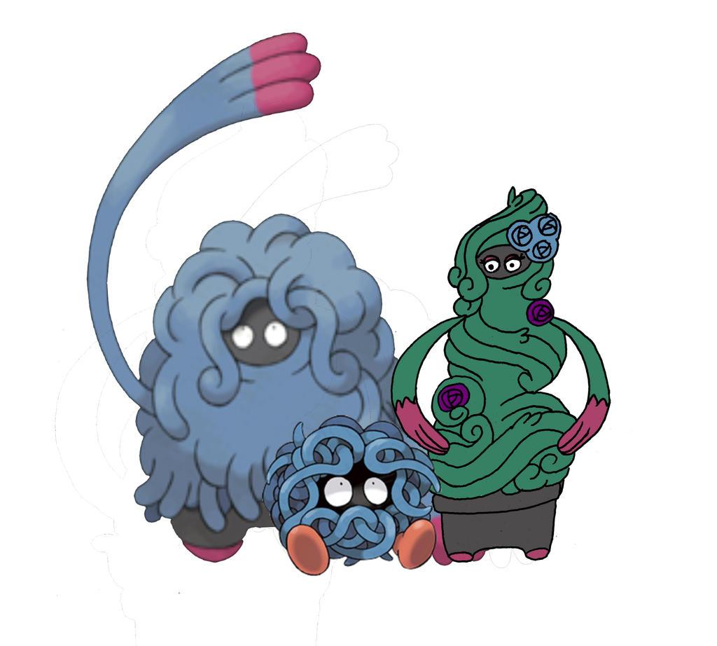 Pokemon Tangela Evolve Images