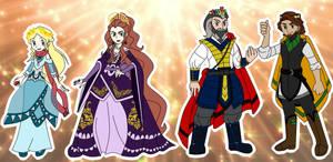 Royals of the Dakem Region!