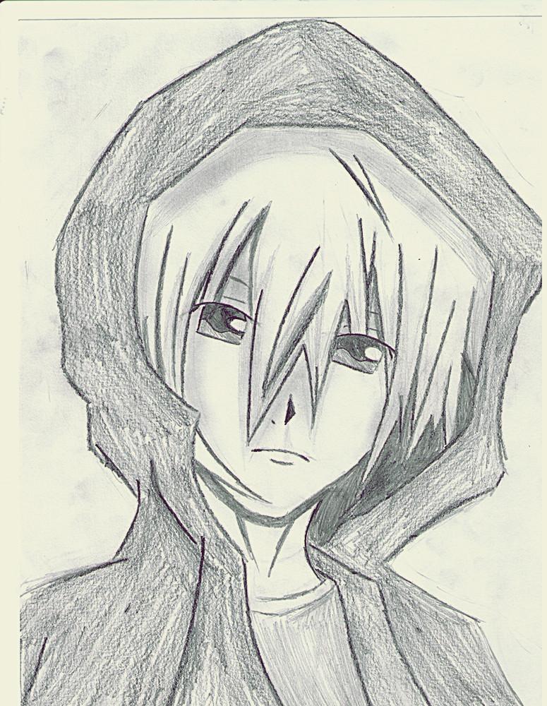 anime boy in hoodie by xxthaixx101