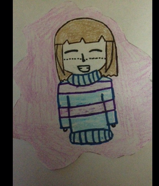Me As Frisk by lovetrouble123