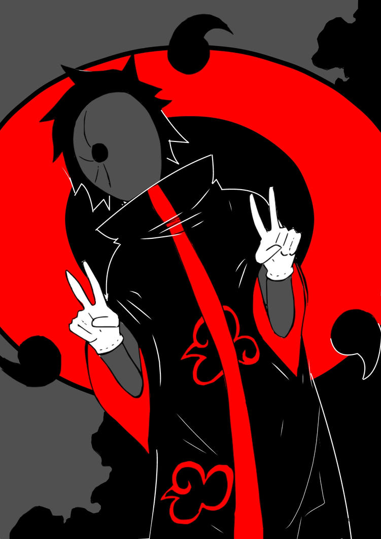 Tobi / Obito Uchiha Naruto Shippuden by AlexisProject on ...