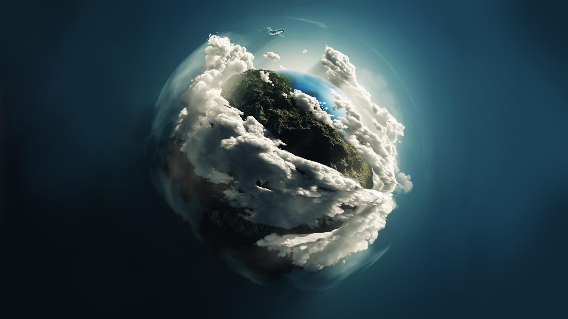 Earth ~ Tierra Wallpaper HD by krysis08