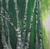 White Birch Forest by juliarita