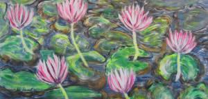 Floating Flowers by juliarita