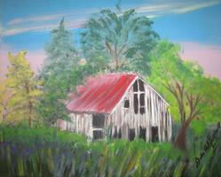 Forgotten Barn by juliarita