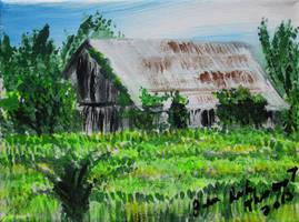Katherine's Barn 4th conc. by juliarita