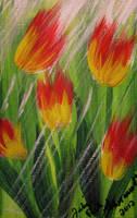 Tulips In The Rain by juliarita