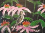 Hummingbird In Eachineceas