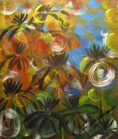 Bubble Dancing Flowers by juliarita