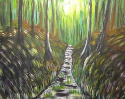 Beyond The Stream by juliarita