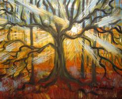 Tree Of Light by juliarita
