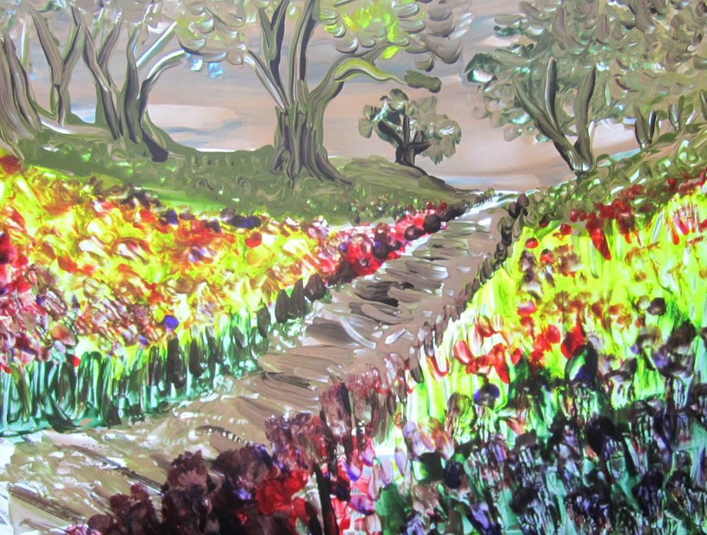Heavenly Path by juliarita