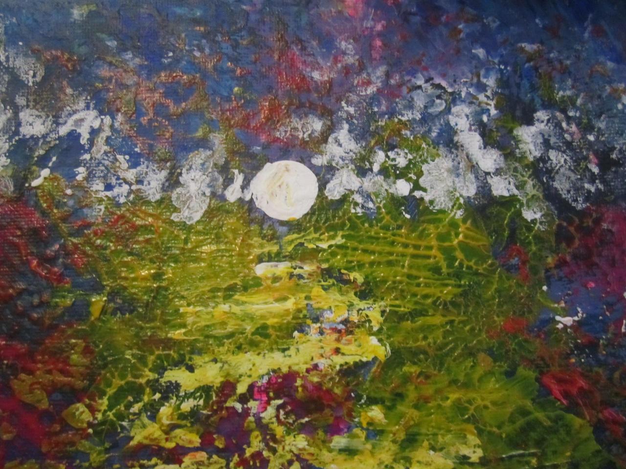 Moonlit Marsh by juliarita