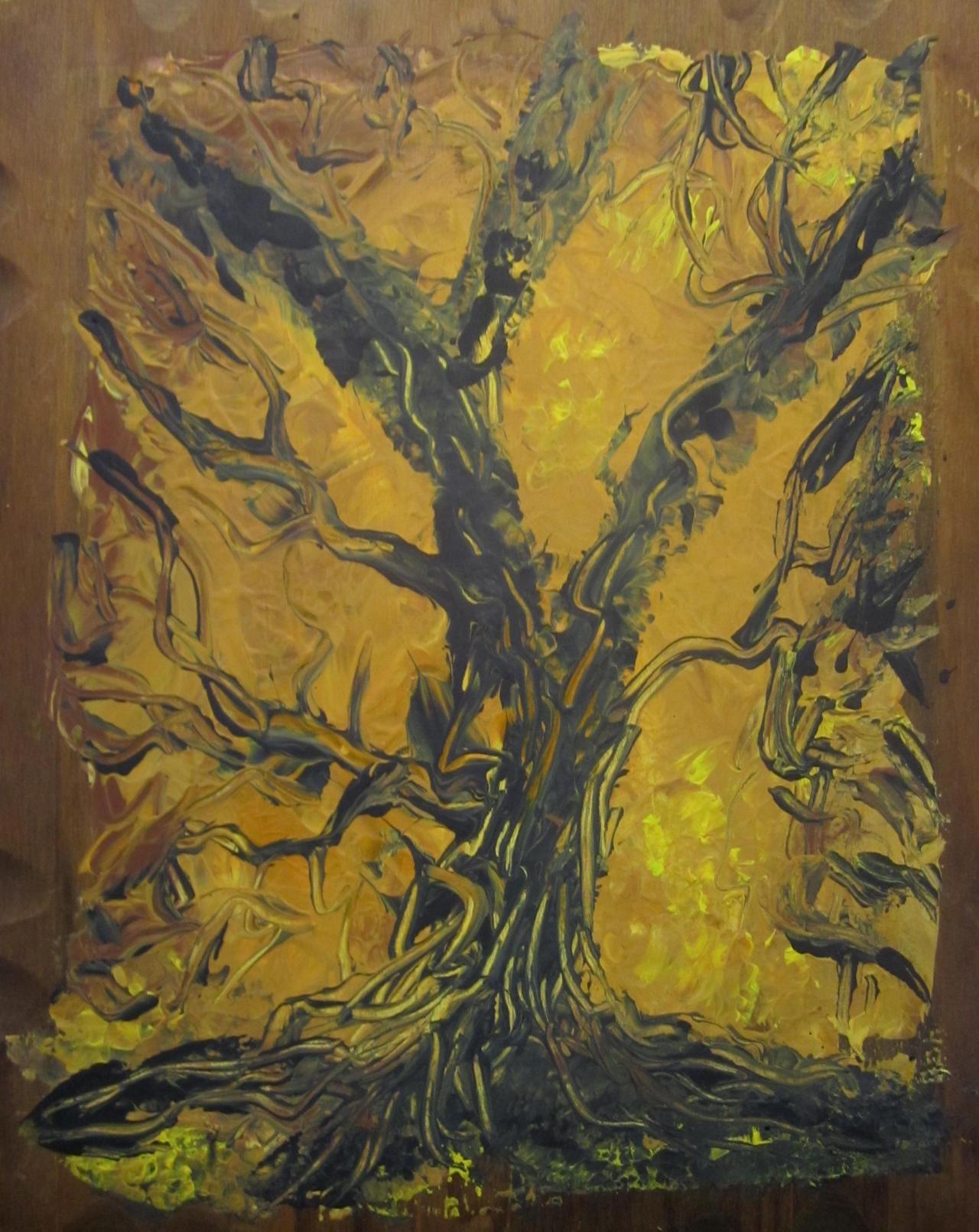 Old Oak Tree by juliarita