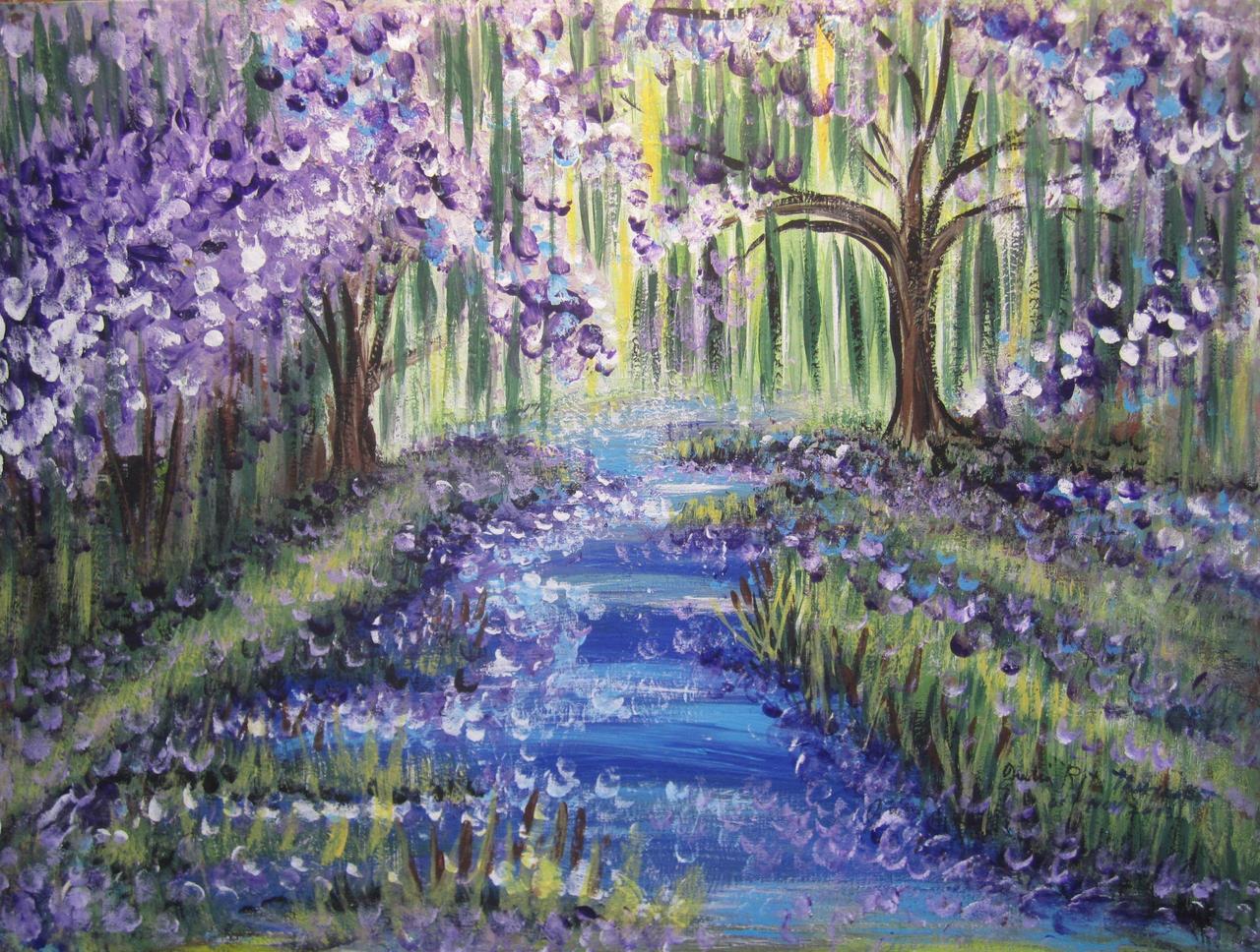 Purple Petals by juliarita